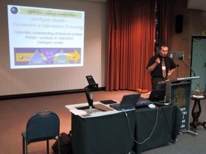 MPES 2003, přednáška na téma Intelligent Mine, Kalgoorlie, Západní Austrálie
