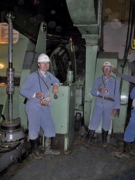 Fárání na uranovém dole Rožná II, Dolní Rožínka